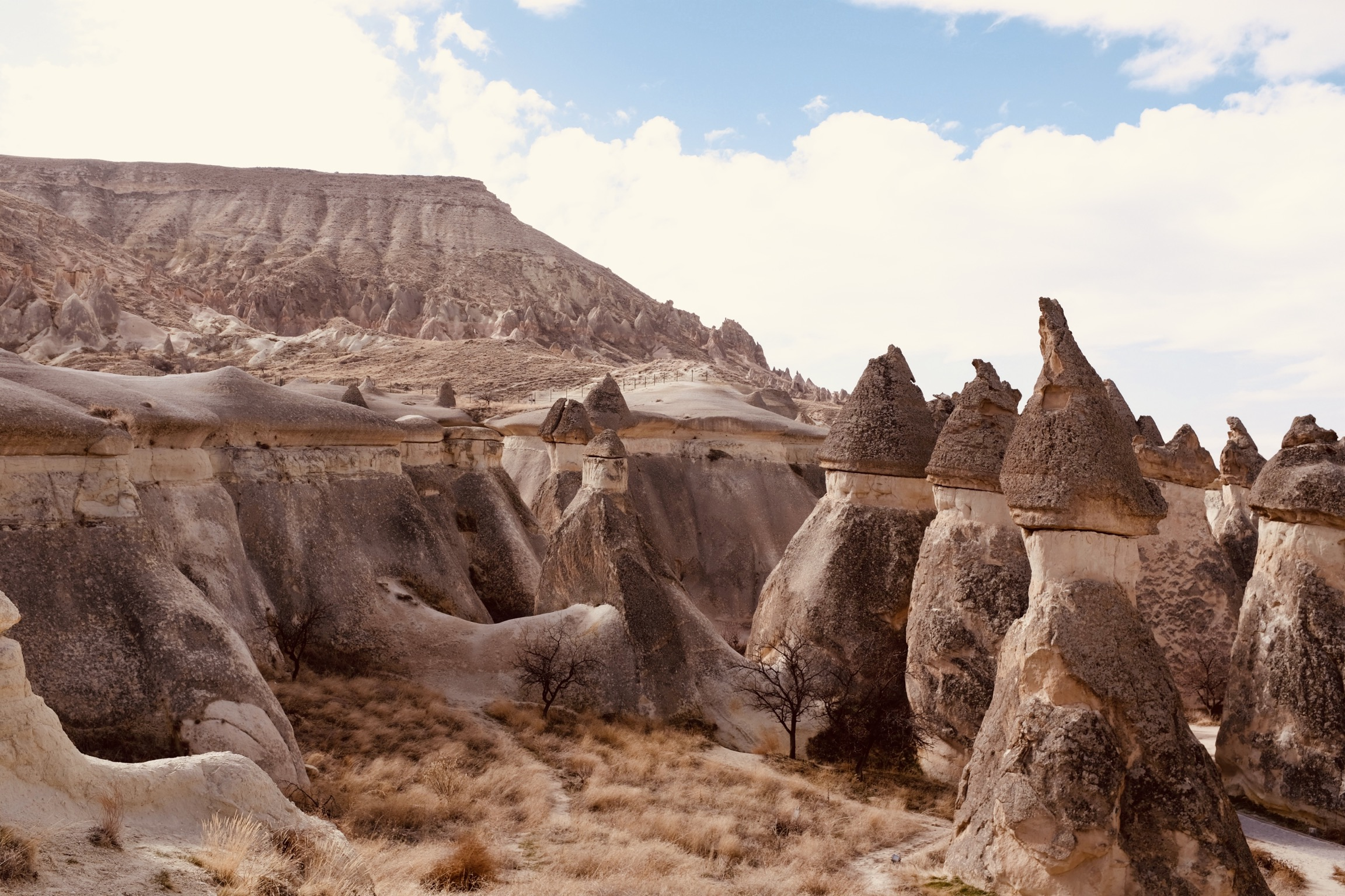 Hello from another world: Cappadocia